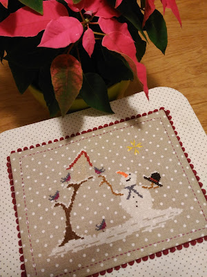 SAL défi noel 2016, bordado, broderie, embroidery, punto cruz, cross stitch, point croix, navidad, christmas, noel