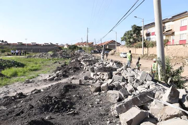 ALLUTA CONTINUA; More Building Brought down by Governor Mike Sonko. 2