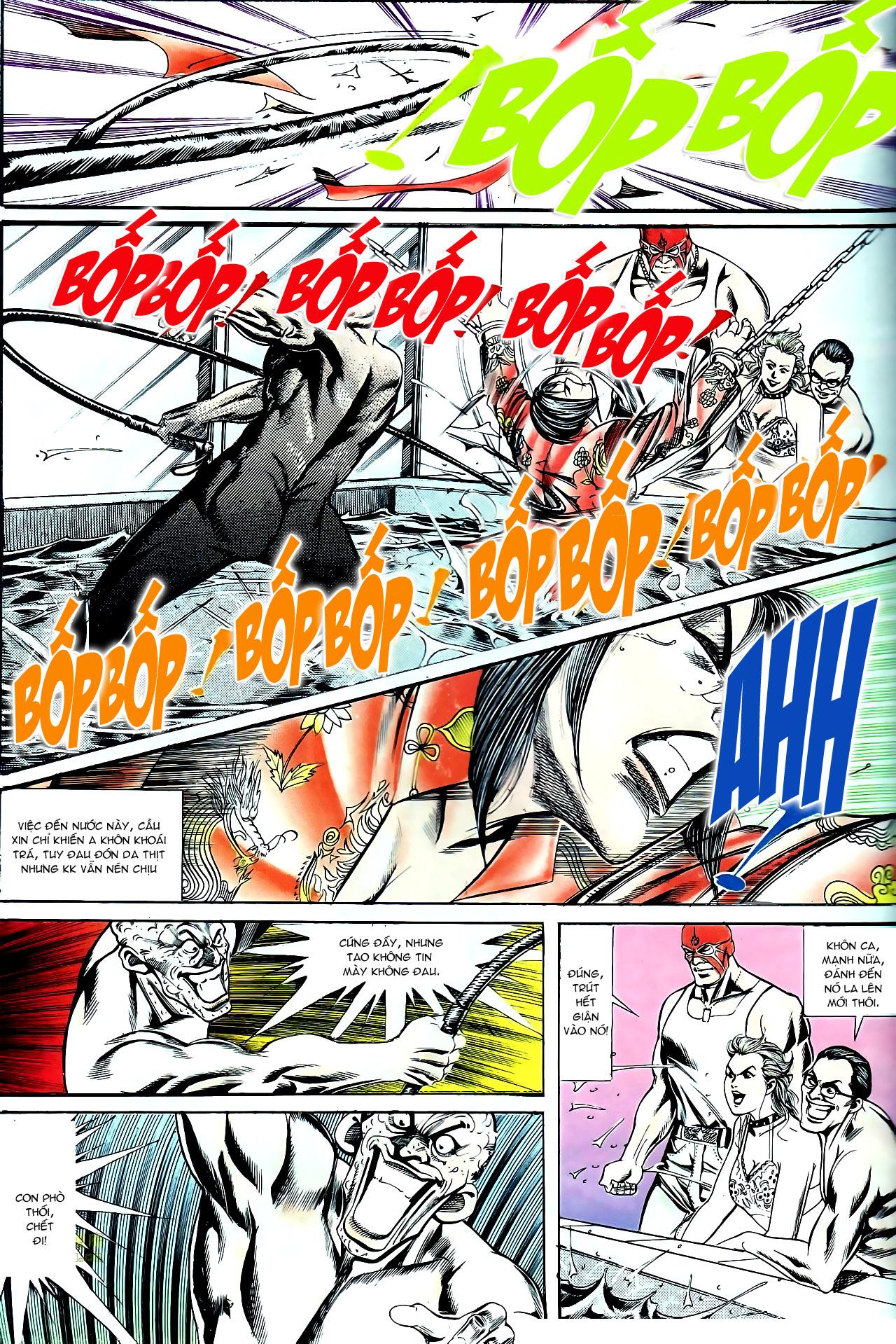 Người Trong Giang Hồ chapter 140: vây giết a khôn trang 15