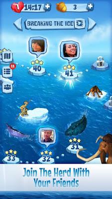 Ice Age: Arctic Blast v1.2.740 Apk Mod ( Muitas Vidas)