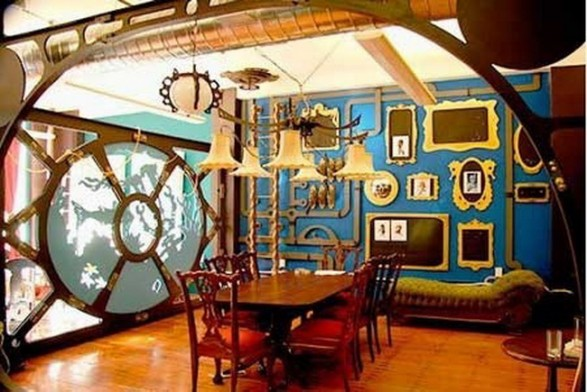 Braxton And Yancey Steampunk Room D 233 Cor In 3 Styles