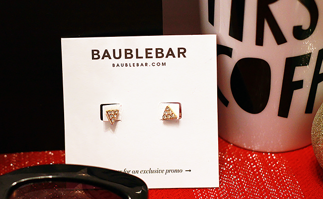BaubleBar Earrings in People x The Voice Gift Box