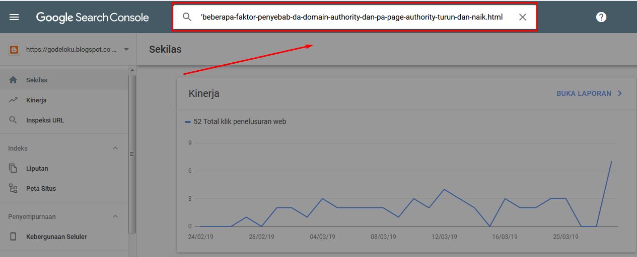 Cara Submit URL Google Webmaster Versi Terbaru