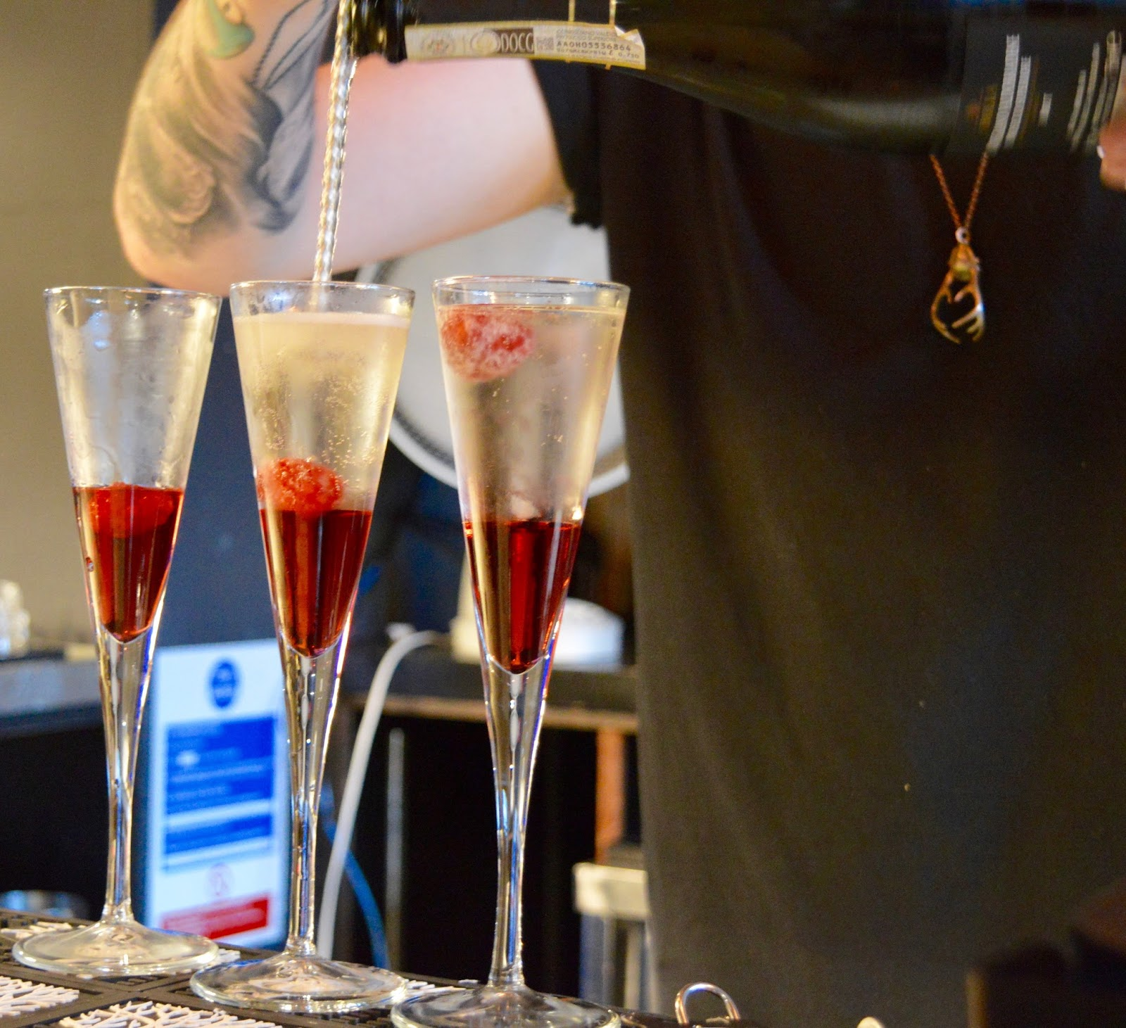 Cocktail Masterclass at Jalou - Kir Royale