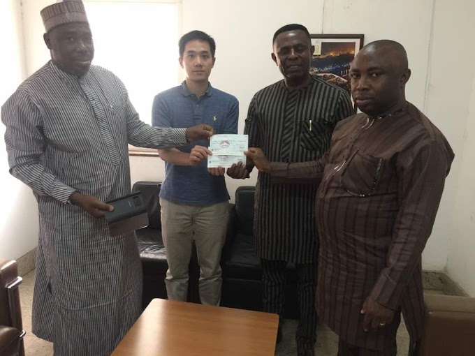 CHINESE GOVERNMENT BEGINS FUNDING FOR ABIA SKILL DEVELOPMENT PROJECT
