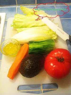 Avakado Salatası nasil yapilir