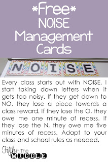 Free NOISE management cards