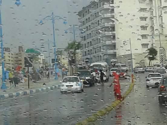 رغم الحر هناك أمطار في فصل الصيف