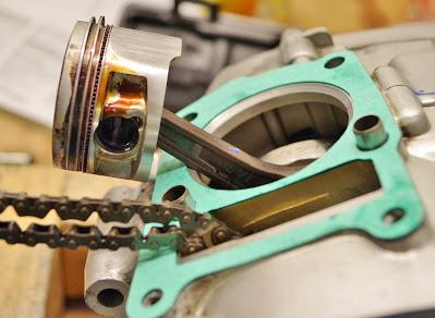 Yamaha YBR 125 Top End Rebuild