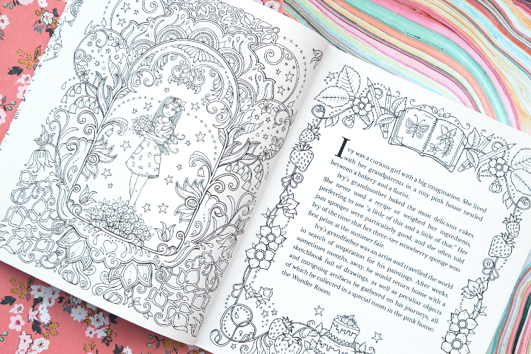 JOHANNA BASFORD COLOURING BOOK GIVEAWAY.