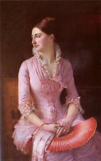 Gustave Claude Étienne Courtois - Portrait of Anne-Marie Dagnan