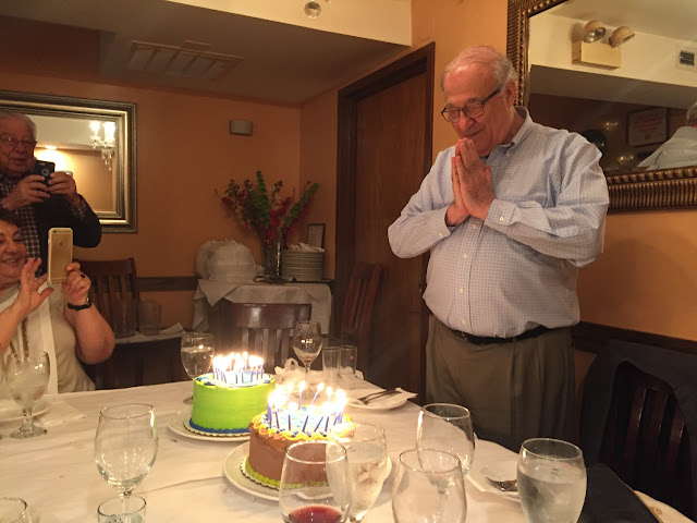 My dad's 80th birthday
