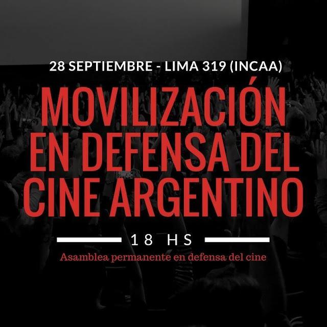 Resolución 942/2017/INCAA - Hugo Castro Fau nos explica la grave situación del cine nacional.