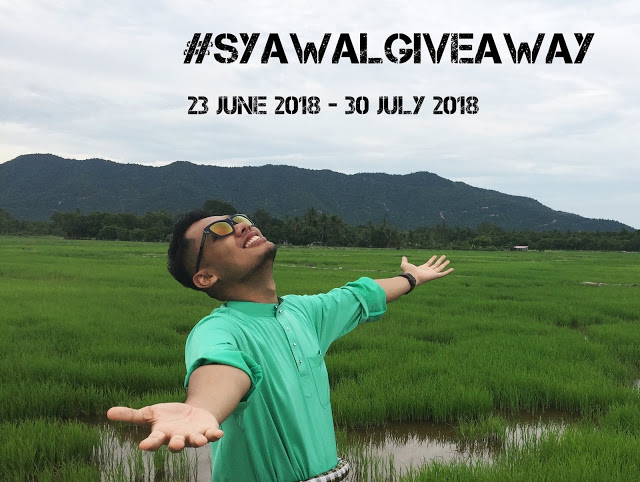#SyawalGiveaway - My First Giveaway