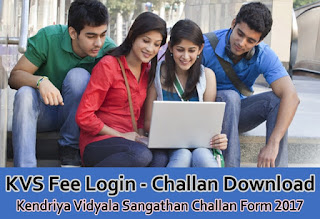 KVS Fees Login, KV UBI Login, KVS Fee Login, KV Fees Online,