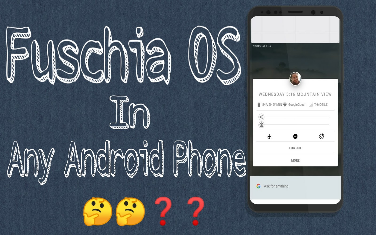 Google's Fuchsia OS: System UI is ported on Android as apk