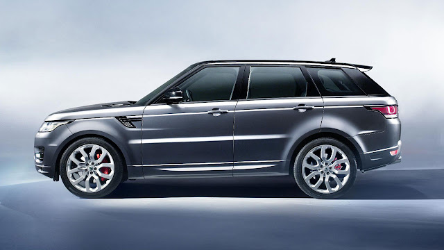 All-new Range Rover Sport SUV side