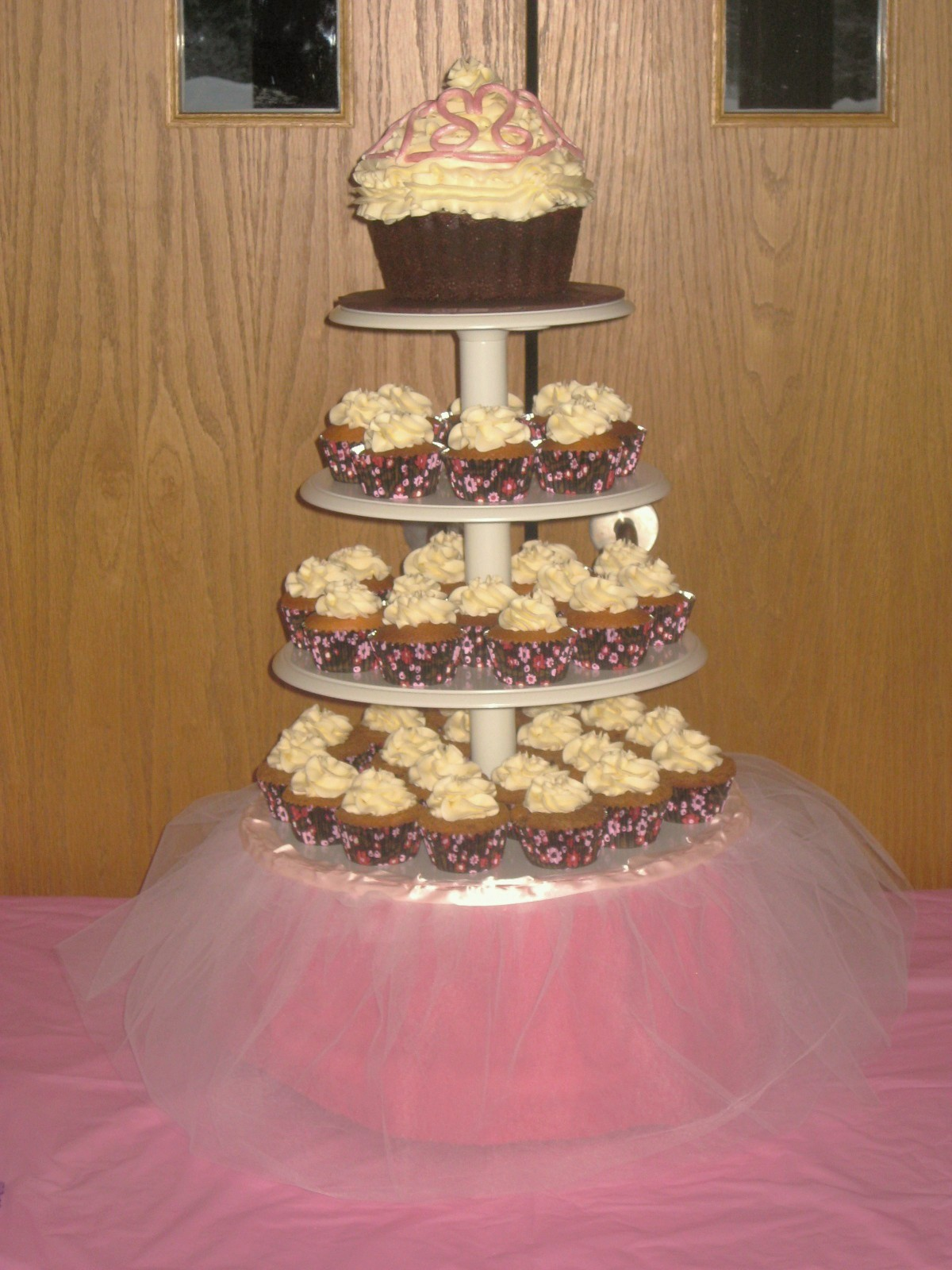 Second Generation Cake Design Princess Cupcake Display
