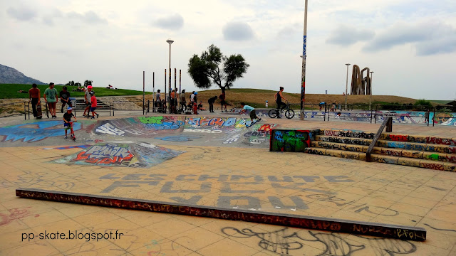 Bowl Marseille mini skatepark