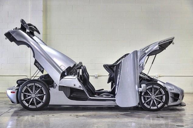 Koenigsegg Ccxr Trevita >> Photo Floyd And His New 4 8 Million Car Koenigsegg Ccxr Trevita