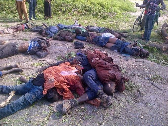 8 Viewers Discretion Is Adviced!! See Pics Of Boko Haram Militants Nilled By Nigerian Troops (Graphic Photos)