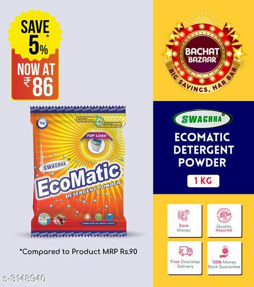 Ecomatic Detergent Powder 1 kg