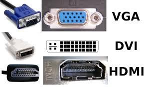 Kerusakan pada port VGA atau HDMI