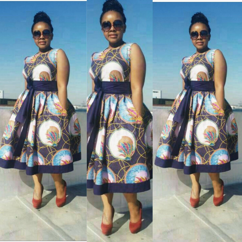 Top 10 Fantastic Kitenge Short Dresses..