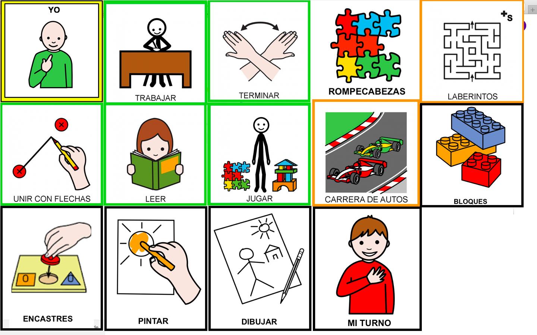 Psicopedagog a hacia adelante pictogramas - Trabajar en casa montando cosas ...