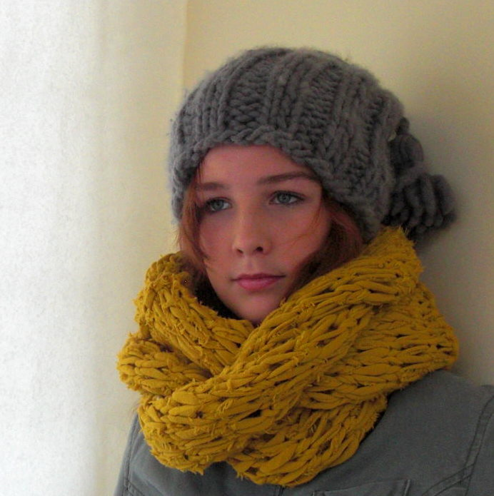 Eco Textile Studio Snelle Warme Kollen En Mutsen Maken