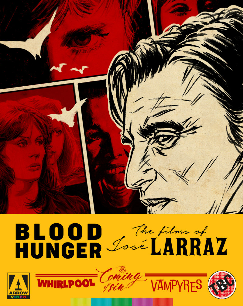 BLOOD HUNGER: THE FILMS OF JOSÉ LARRAZ blu-ray