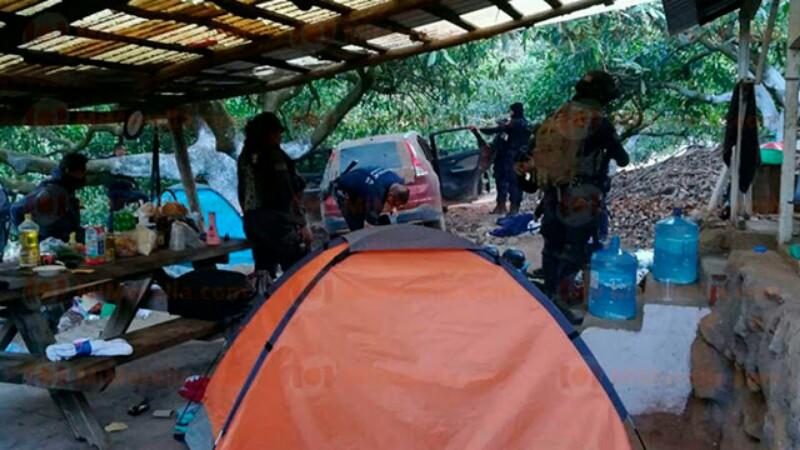 """Policías capturan a """"El Loco"""" y desmantelan narcocampamento de la LNFM"""