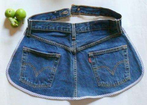 gk kreativ upcycling sch rze aus einer alten jeans n hen. Black Bedroom Furniture Sets. Home Design Ideas