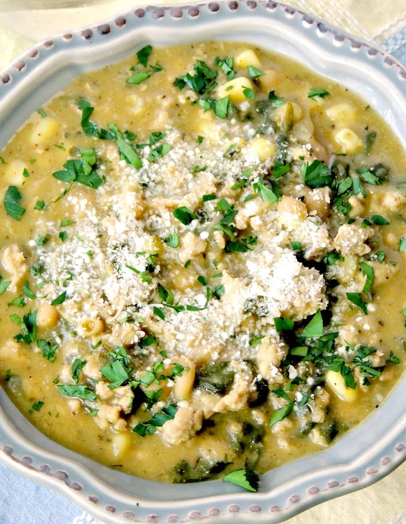 White Chicken Chili from www.bobbiskozykitchen.com