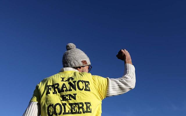 Γαλλία: Τα «κίτρινα γιλέκα» κατεβαίνουν στους δρόμους για ένατο Σάββατο κινητοποιήσεων