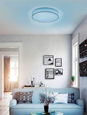 lampy Reaction, high-tech svietidlá, lampy na ovládač