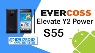Cara Flashing Evercoss Elevate Y2 Power S55 100% Work