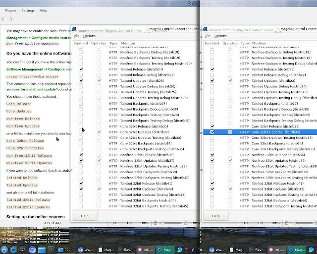 Byteria: Mageia 7 (beta2) - Instalação e configuração