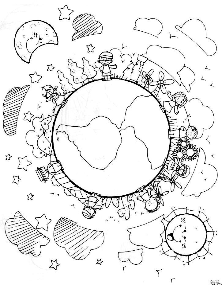 Imgenes del sistema solar para Colorear Educa t Solar