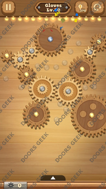 Fix it: Gear Puzzle [Gloves] Level 30 Solution, Cheats, Walkthrough for Android, iPhone, iPad and iPod