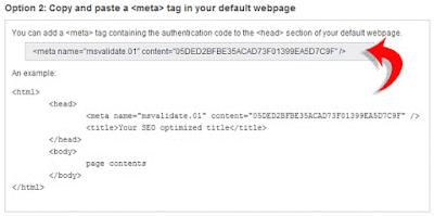 কিভাবে ওয়েবসাইট Bing এবং Yahoo সার্চ ইঞ্জিনে সাবমিট করতে হয়