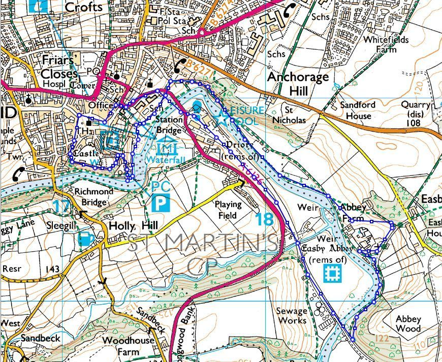 Richmond+to+Easby+Abbey+Routemap Map My Route Walking on map my trip, plan my route, map my run, map out a route trip, mapping a route, map my state, map of my land, map my name, chart my route, map sf 5k route, map my drives, map my distance, map my place, map my city,
