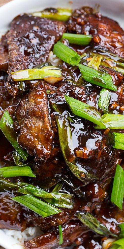 Mongolian Beef (PF Chang's copycat) #mongolian #beef #copycat #tasty #tastyrecipes #delicious #deliciousrecipes