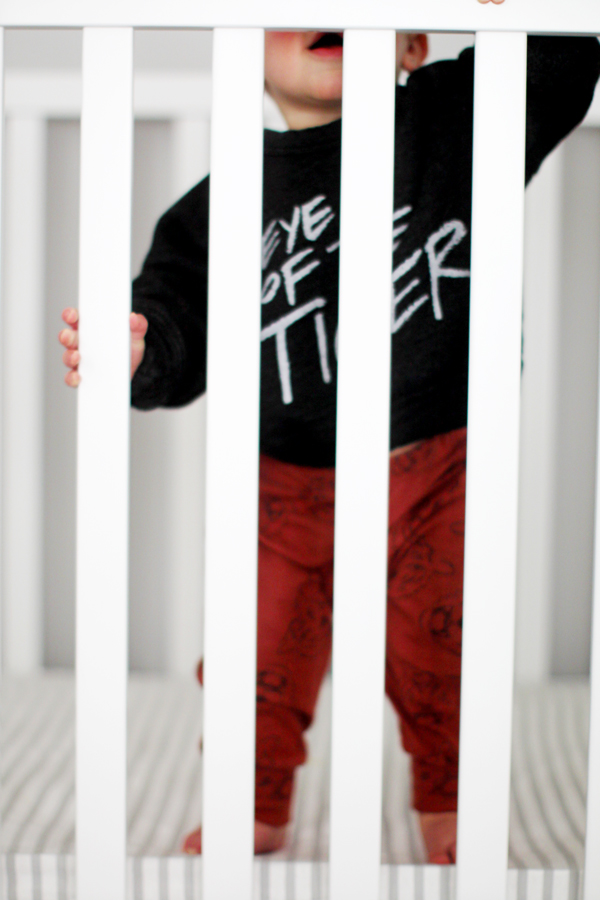 Eye of the Tiger sweatshirt by Kira Kids - so soft!