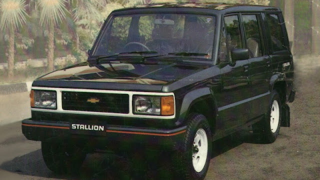 Chevrolet Stallion Trooper 2WD