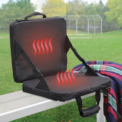 Heated Massaging Stadium Seat