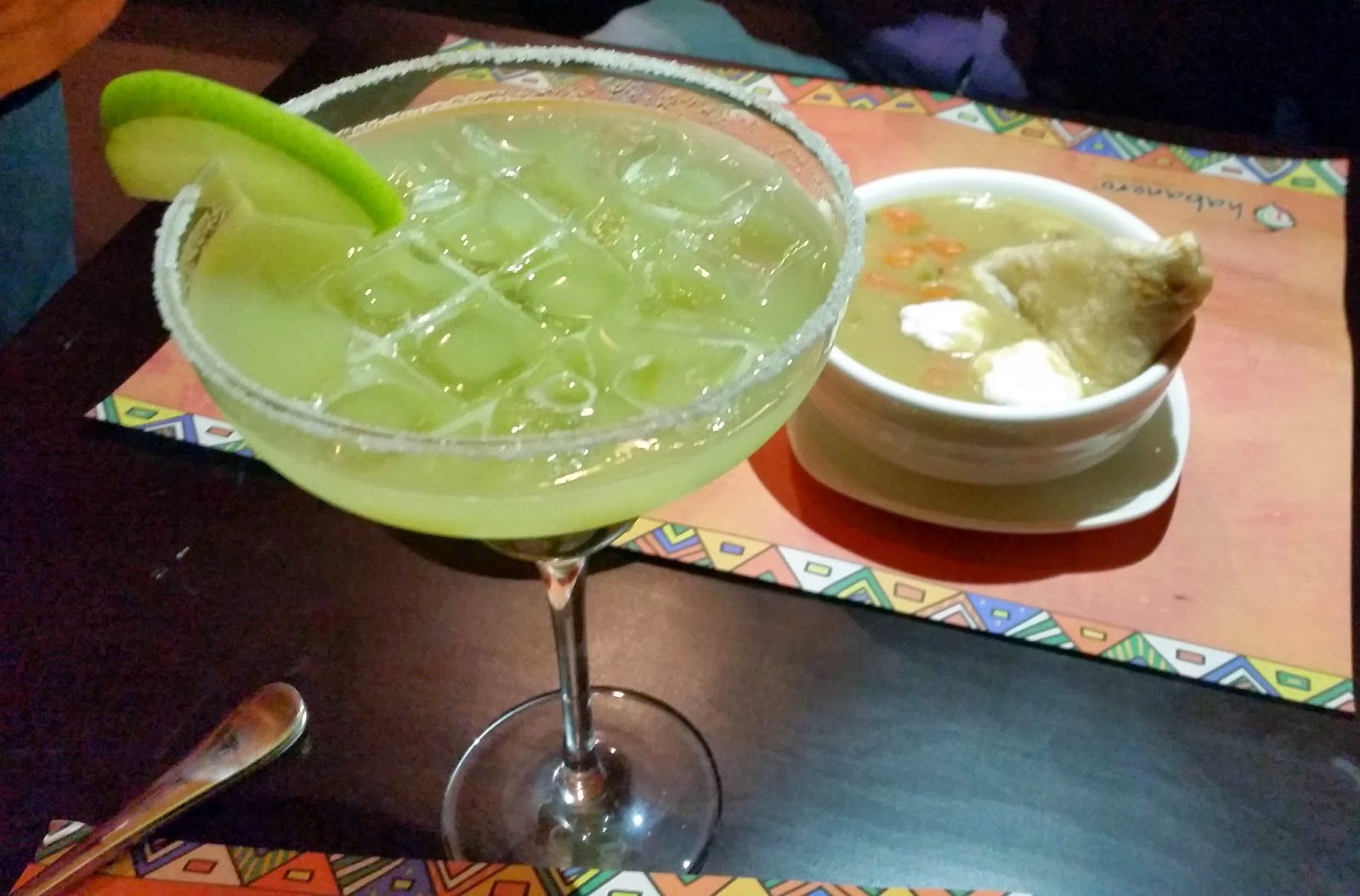 Green Apple Margarita Habanero