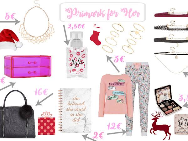 Sugestões Prendas de Natal para Ela - Primark