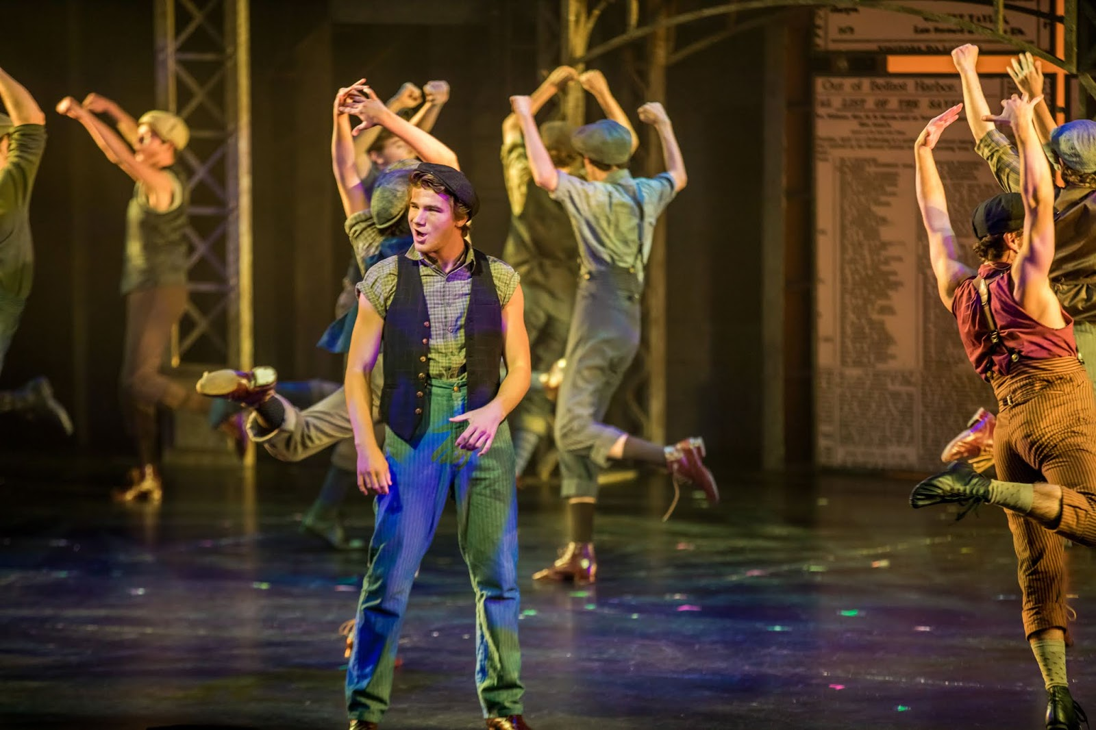 PHX Stages: review - NEWSIES - Valley Youth Theatre