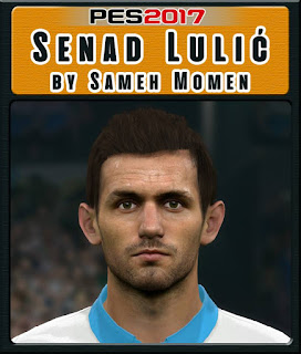 PES 2017 Faces Senad Lulić by Sameh Momen